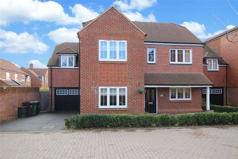 5 Bedrooms Detached House for sale in Scott Close, Kings Park, St. Albans, Hertfordshire, AL3