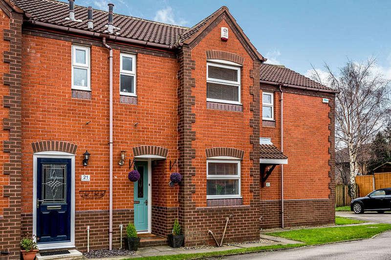 2 Bedrooms Terraced House for sale in Barley Mews, Robin Hood, Wakefield, WF3
