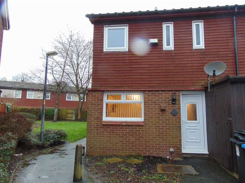 3 Bedrooms End Of Terrace House for sale in Bodmin Close, Runcorn