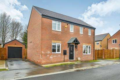 3 Bedrooms Detached House for sale in St. Cuthberts Close, Colburn, Catterick Garrison, North Yorkshire