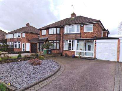3 Bedrooms Semi Detached House for sale in Mayfield Road, Streetly, Sutton Coldfield, West Midlands