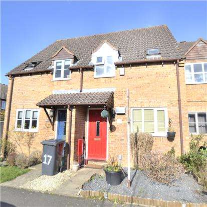 2 Bedrooms Terraced House for sale in Merchants Mead, Quedgeley, GLOUCESTER, GL2 4FA