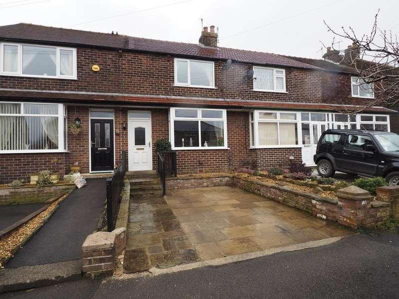 2 Bedrooms Terraced House for sale in Laneside Road, New Mills, High Peak, Derbyshire, SK22 4LT