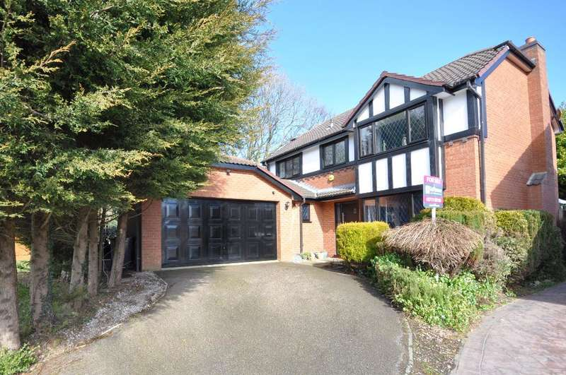 4 Bedrooms Detached House for sale in Cedar Close, Newton, Preston, Lancashire, PR4 3TZ