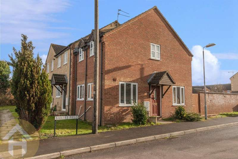 2 Bedrooms End Of Terrace House for sale in Bakers Field, Lyneham, Chippenham