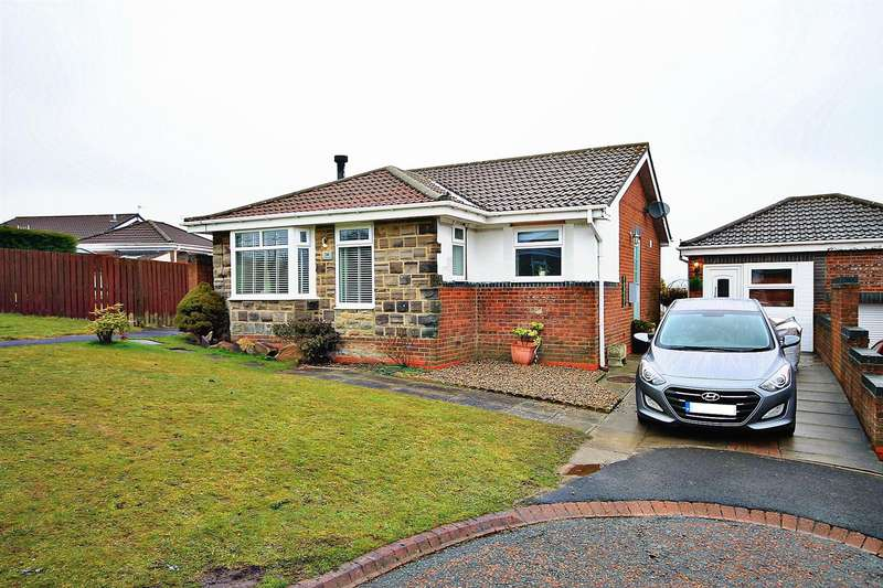 2 Bedrooms Detached Bungalow for sale in Osprey Close, Esh Winning, Durham