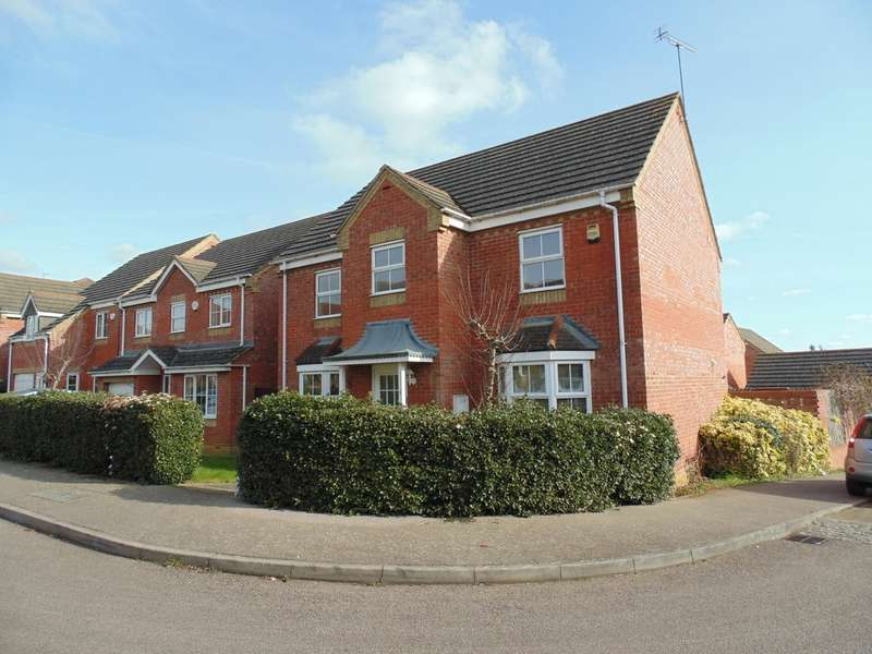 4 Bedrooms Detached House for sale in Leighton Close