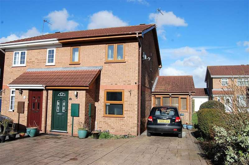 2 Bedrooms Semi Detached House for sale in Berrington Drive, Coseley, Bilston, WV14 9QH