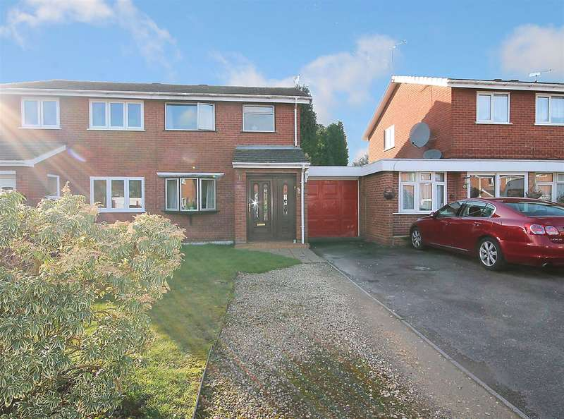 3 Bedrooms Semi Detached House for sale in Quince, Tamworth, B77 4EU