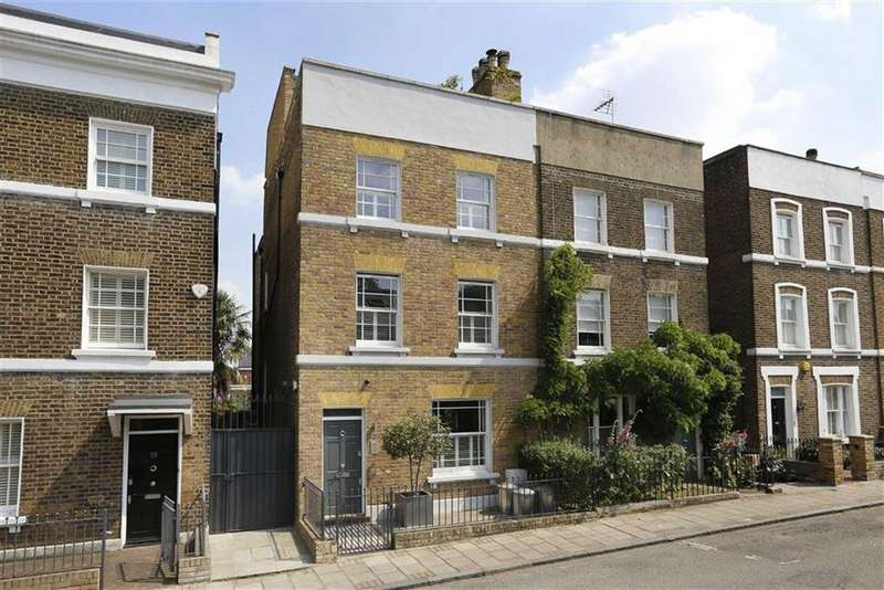 5 Bedrooms Semi Detached House for sale in Wadham Road, Putney, SW15
