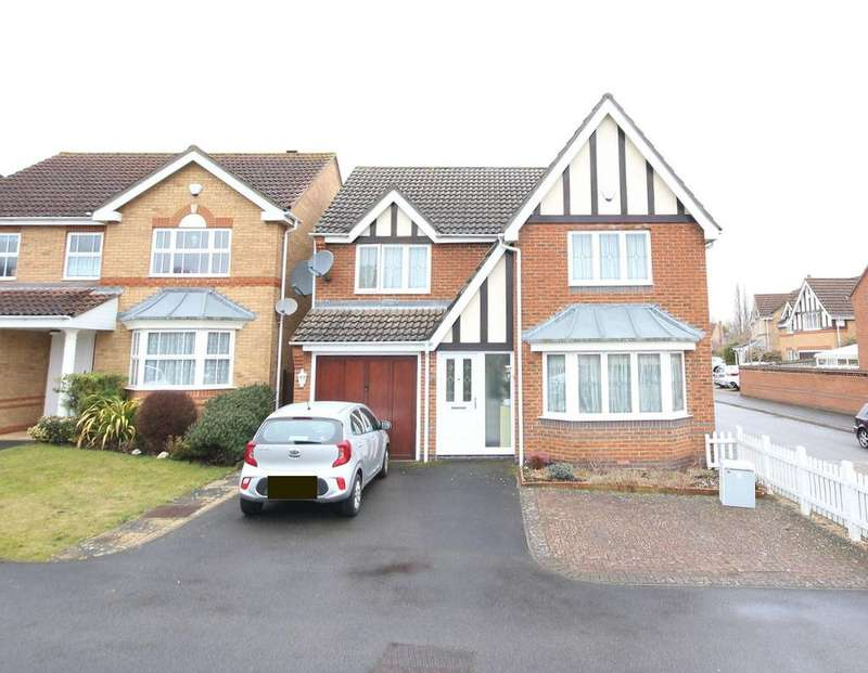 4 Bedrooms Detached House for sale in Braunstone Drive, Allington ME16