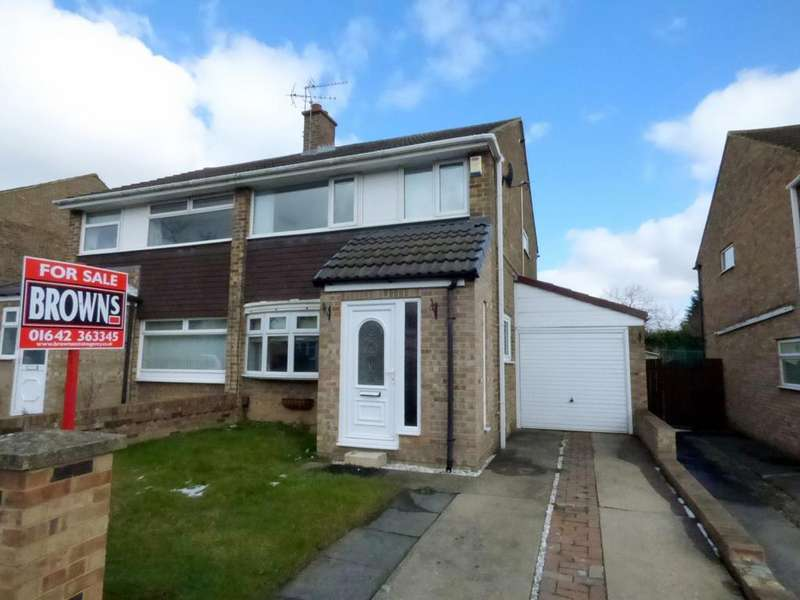 3 Bedrooms Semi Detached House for sale in Briardene Court, Stockton-On-Tees, TS19
