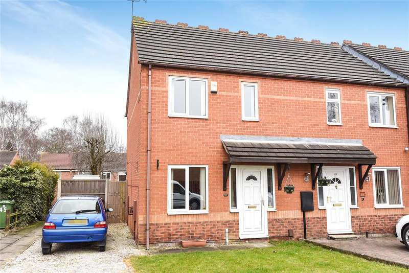 2 Bedrooms End Of Terrace House for sale in Harrier Court, Lincoln, LN6