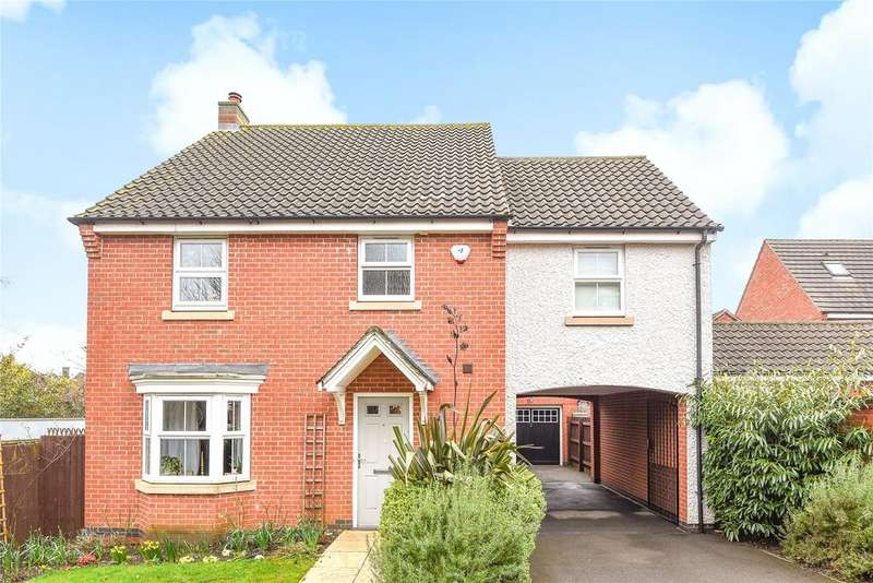 4 Bedrooms Detached House for sale in Marriner Court, Lincoln, LN2