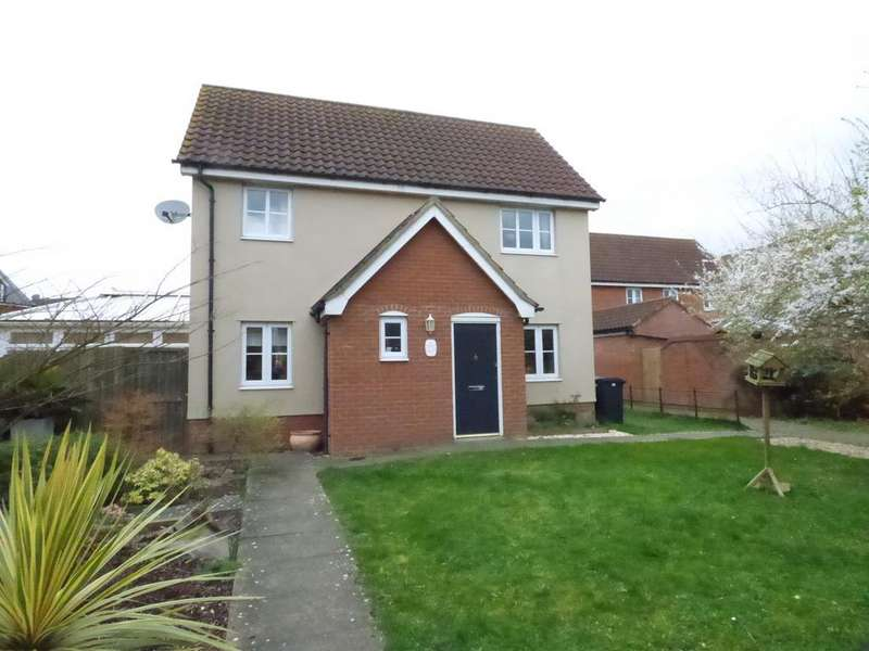 3 Bedrooms Semi Detached House for sale in Folkard Close, Long Stratton NR15