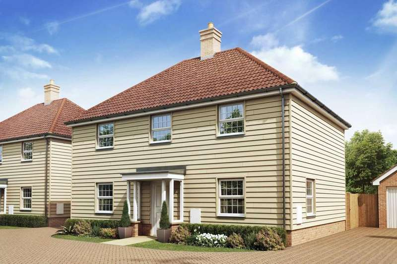 4 Bedrooms Detached House for sale in Ongar Road, Great Dunmow, Essex, CM6