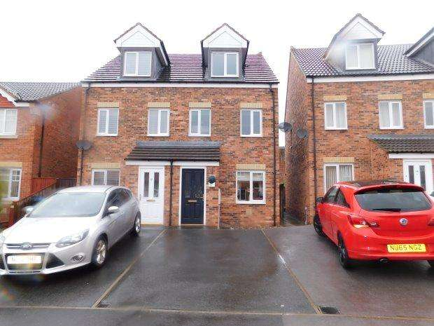 3 Bedrooms Semi Detached House for sale in ST CATHERINE WAY, BISHOP AUCKLAND, BISHOP AUCKLAND