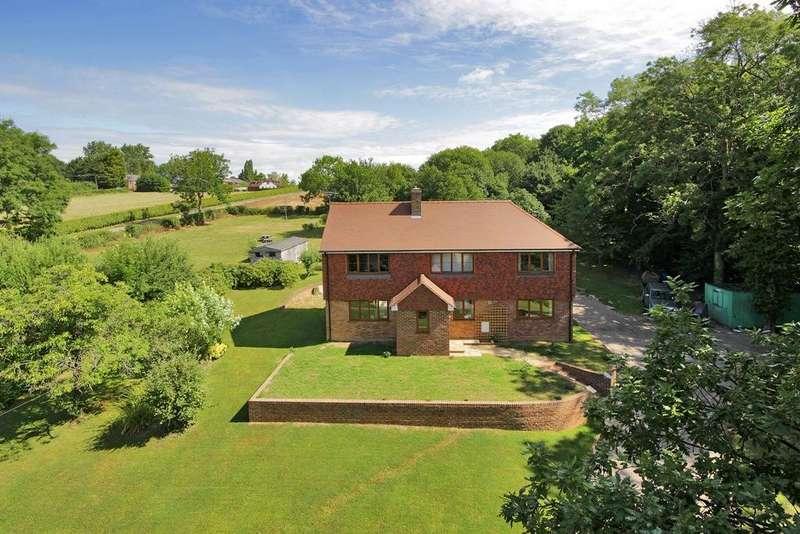 5 Bedrooms Detached House for sale in Cranbrook Road, Benenden, Kent, TN17 4ET
