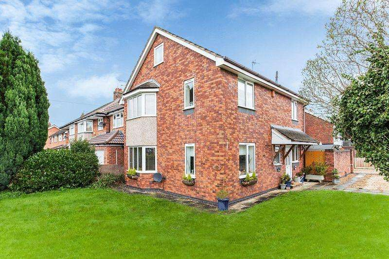 4 Bedrooms Detached House for sale in Greenacres Road, Congleton