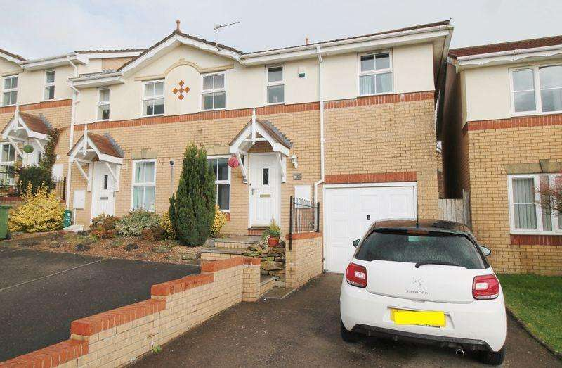 3 Bedrooms End Of Terrace House for sale in Acorn Grove, Church Village, CF38 2AJ