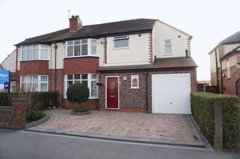 4 Bedrooms Semi Detached House for sale in Linden Road, Cheadle Hulme