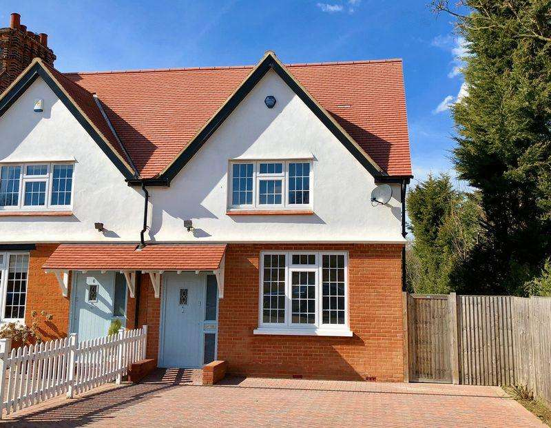 3 Bedrooms Terraced House for sale in Vicarage Road, Bexley Village