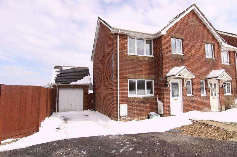 3 Bedrooms Semi Detached House for sale in Luxmoore Way, Okehampton