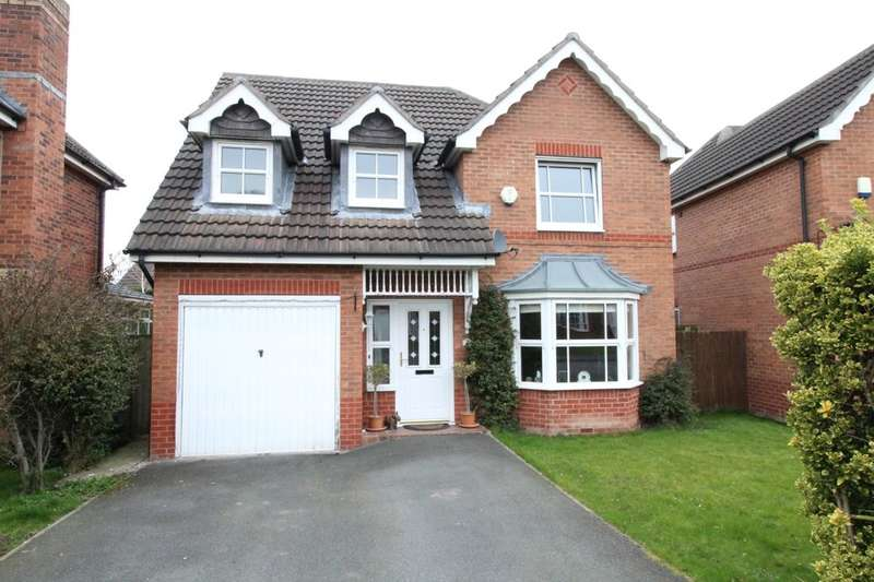 4 Bedrooms Detached House for sale in Obelisk Way, Congleton, CW12
