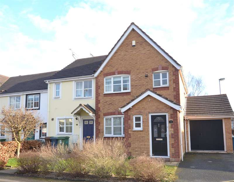3 Bedrooms End Of Terrace House for sale in Commonside Close, Stafford