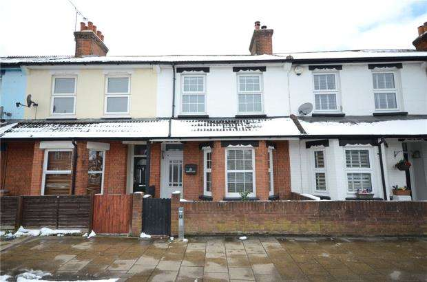 3 Bedrooms Terraced House for sale in North Lane, Aldershot, Hampshire