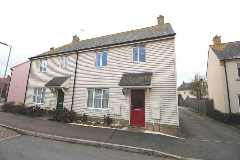 3 Bedrooms Semi Detached House for sale in Stebbens Way, Heybridge