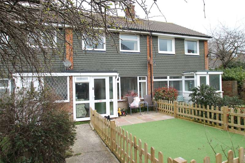 3 Bedrooms Terraced House for sale in Parham Close, Rustington, West Sussex, BN16