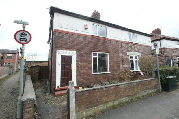 2 Bedrooms Semi Detached House for sale in Waverley Road, Sale