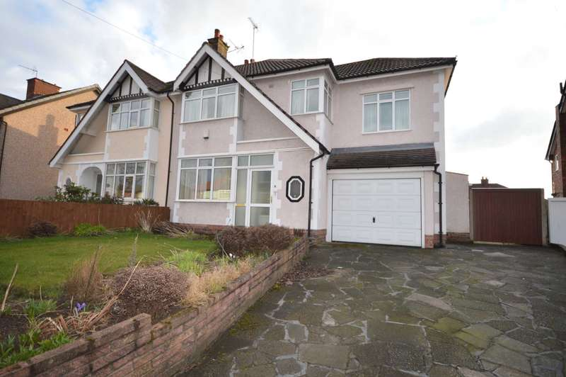 4 Bedrooms Semi Detached House for sale in Spital Road, Bromborough