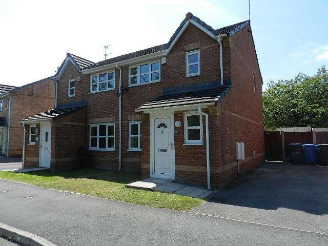 3 Bedrooms Semi Detached House for rent in Harrier Road, Padgate, Warrington, Cheshire, WA2 0WN
