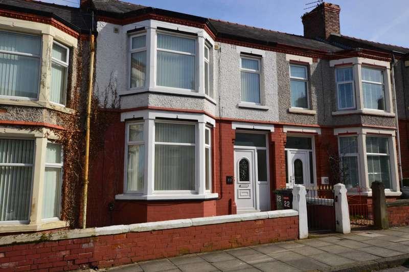 3 Bedrooms Terraced House for rent in Shamrock Road, Birkenhead
