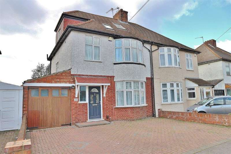 4 Bedrooms Semi Detached House for sale in Faraday Road, South Welling, Kent, DA16 2ET