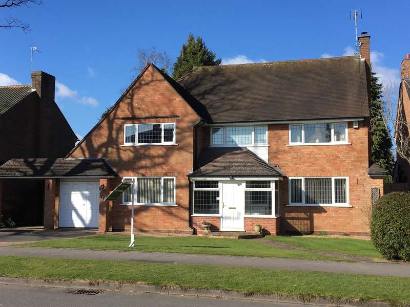 4 Bedrooms Detached House for sale in Rodborough Road, Dorridge, Solihull, B93 8ED