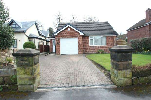 3 Bedrooms Detached Bungalow for sale in Grove Lane, Hale