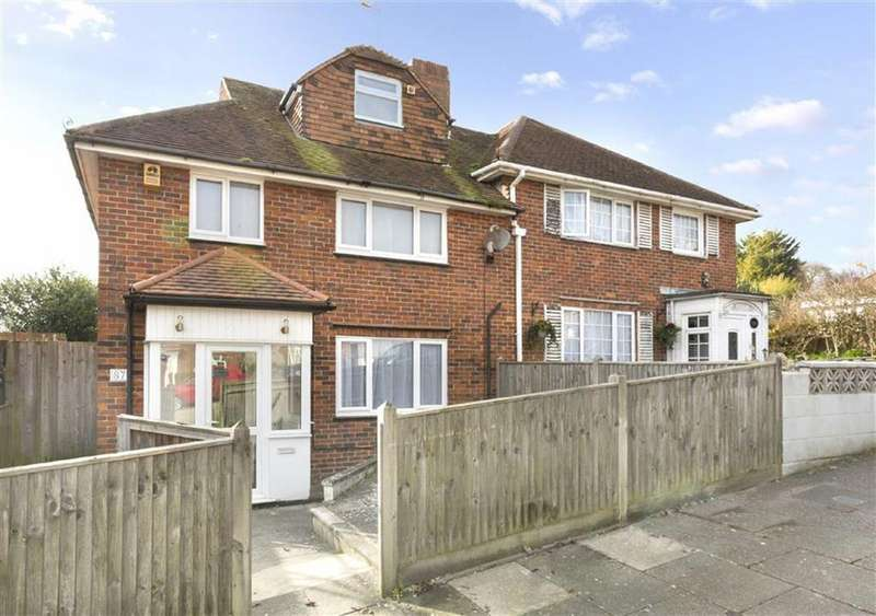 4 Bedrooms Semi Detached House for sale in Midhurst Rise, Brighton
