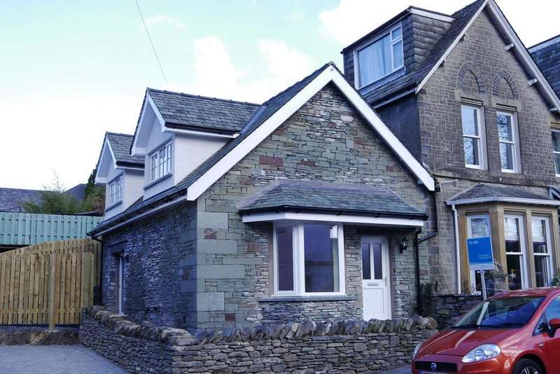 3 Bedrooms Semi Detached House for sale in Follys End, Oldfield Road, Windermere