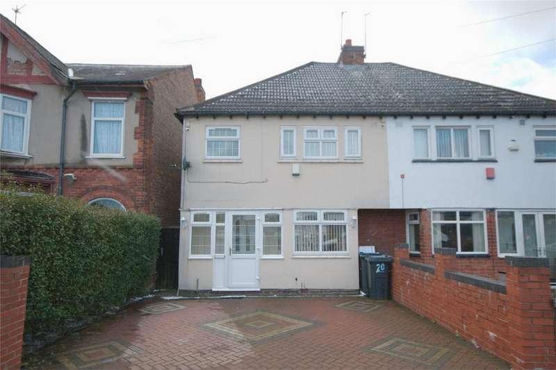 3 Bedrooms Semi Detached House for sale in Gladstone Road, Erdington, Birmingham, West Midlands