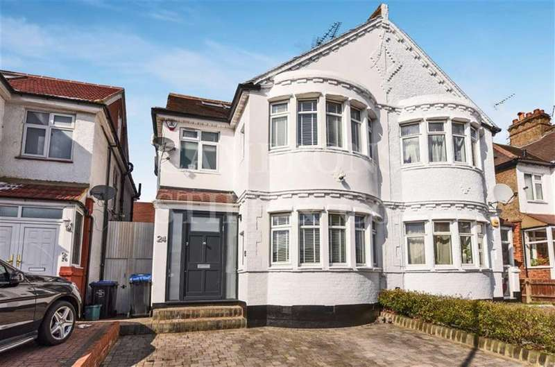 4 Bedrooms Semi Detached House for sale in Donnington Road, Kensal Rise, London, NW10