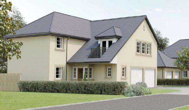 4 Bedrooms Detached House for sale in Plot 4 - The Rannoch, The Lime Kilns, East Calder