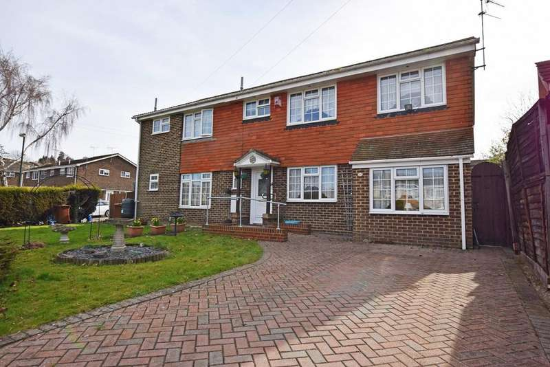 4 Bedrooms Semi Detached House for sale in Ploughmans Way, Rainham, Rainham, ME8