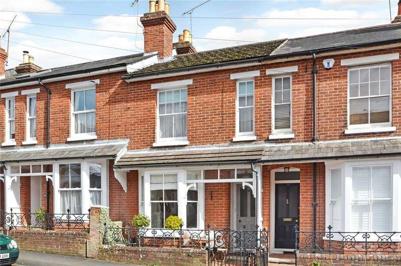 3 Bedrooms Terraced House for sale in Brassey Road, Winchester, Hampshire, SO22