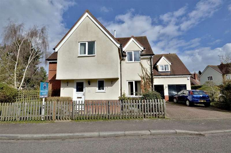 5 Bedrooms Detached House for sale in 25 Lion Meadow, Steeple Bumpstead, Nr Haverhill