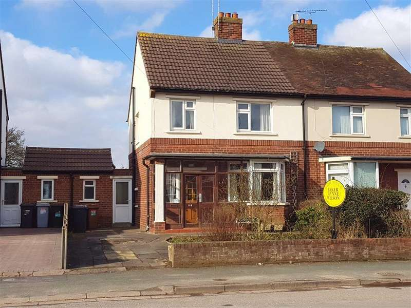 3 Bedrooms Semi Detached House for sale in Audlem Road, Nantwich, Cheshire