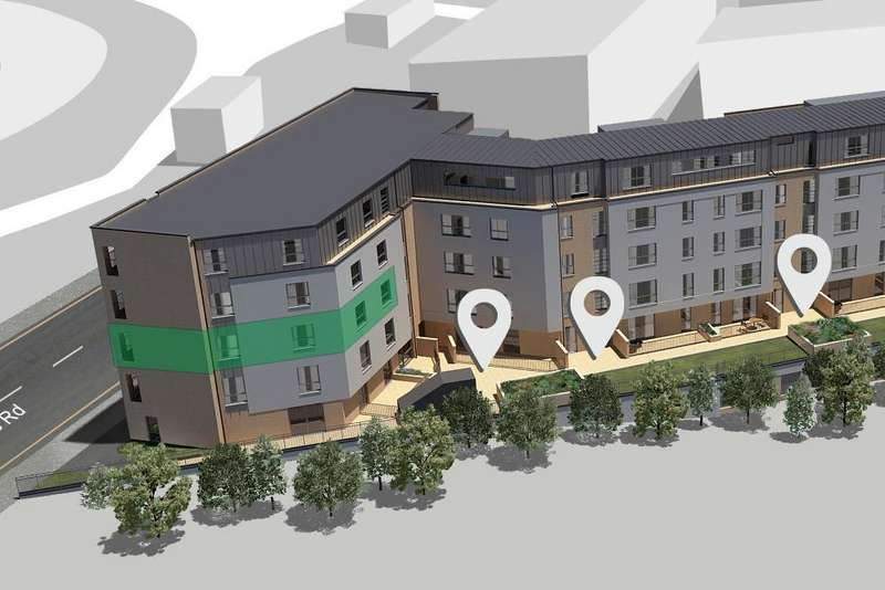 3 Bedrooms Flat for sale in Plot 44, Marionville Road, Edinburgh