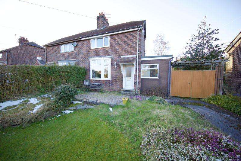 2 Bedrooms Semi Detached House for sale in Basford Bridge Lane, Cheddleton, Leek